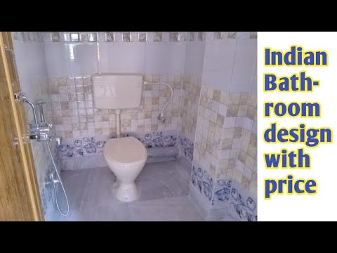 Modular bathroom design for middle class || Indian ...