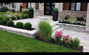 Beautiful Entrance Landscaping  Design Ideas