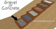 What Materials Should You Use For Filling Steps? - Landscaping Stair Boxes