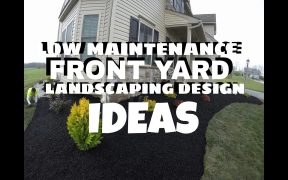 Low maintenance front yard landscaping design ideas East Berlin PA - Ryan' Landscaping (time lapse)