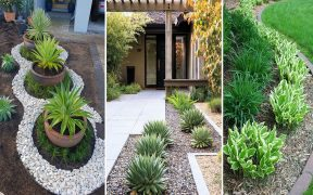 40 + Easy But Beautiful Front Yard Landscaping Ideas | garden ideas