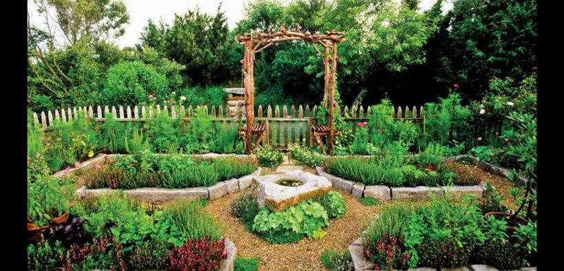Backyard vegetable garden design ideas