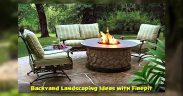 Backyard Landscaping Ideas with Firepit
