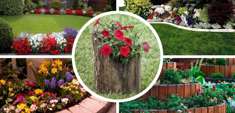 75 Magical Garden Flower Bed Ideas and Designs For Backyard & Front Yard 2021