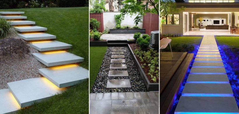 Beautiful Garden Walkway Ideas and Pathway Design | Front Yard Landscaping Ideas