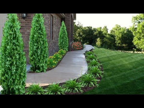 GARDEN LANDSCAPING IDEAS FOR YOUR BEAUTIFUL FRONT AND BACKYARD